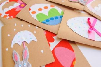 Tworzenia kartek wielkanocnych dla dzieci