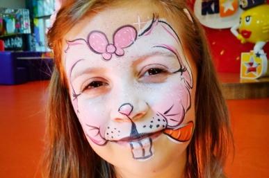 Wielkanocne malowanie twarzy